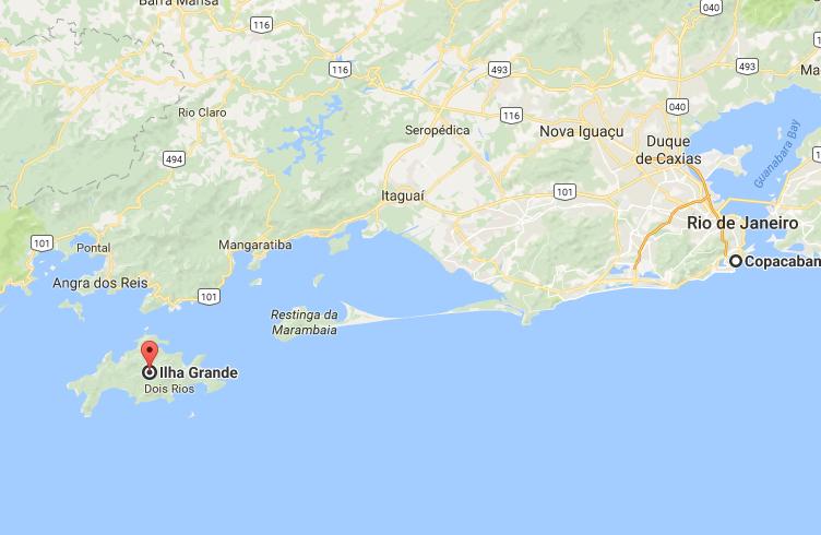 Карта Рио, Бразилия