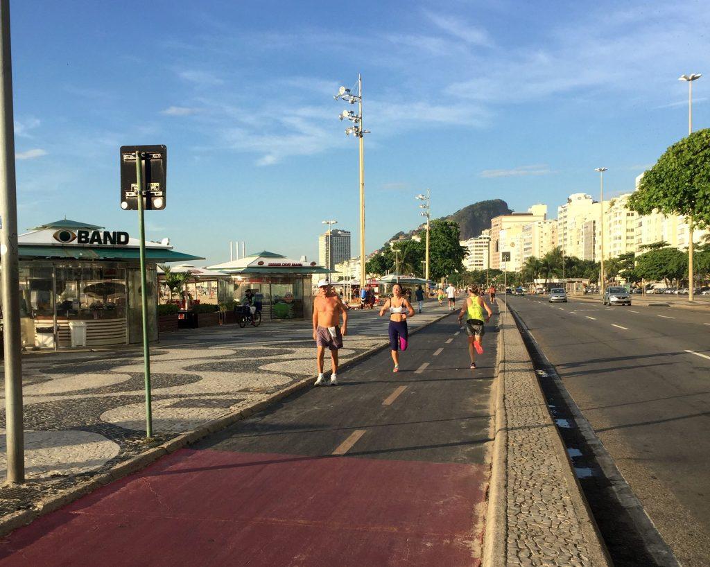 Утренная пробежка по Копакабане