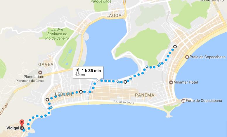 Маршрут на день, Рио