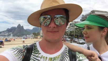 Русские туристы в Рио