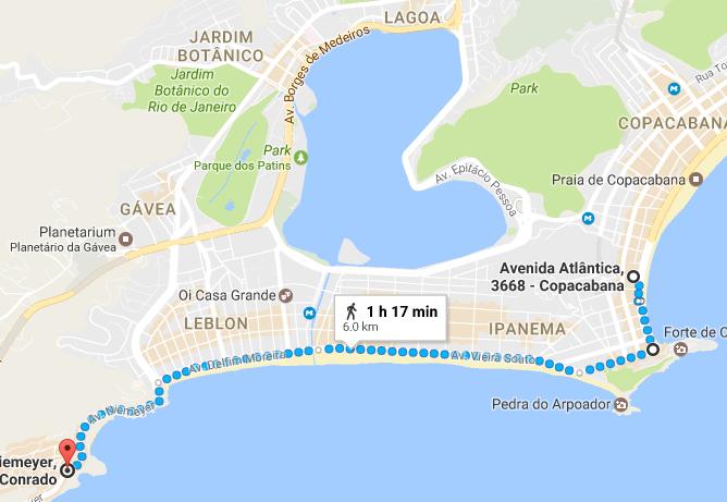 Прогулка от отеля до фавелы Видигал и пляжа у Sheraton'а