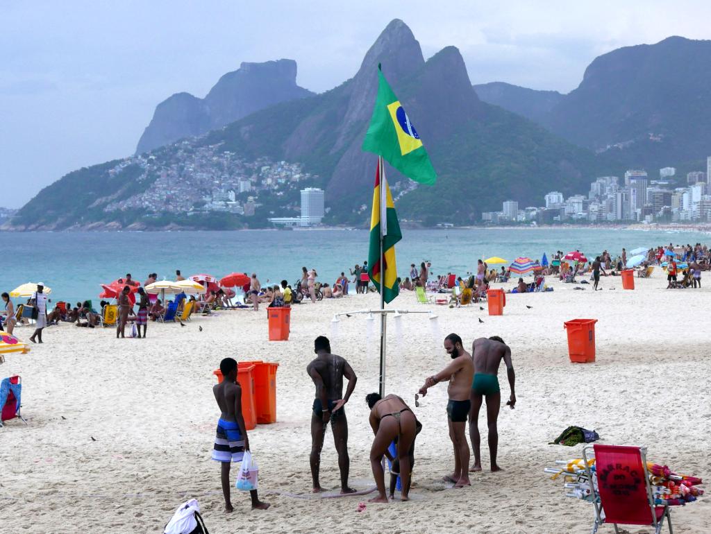 Души на Ипанеме, Рио-де-Жанейро, Бразилия