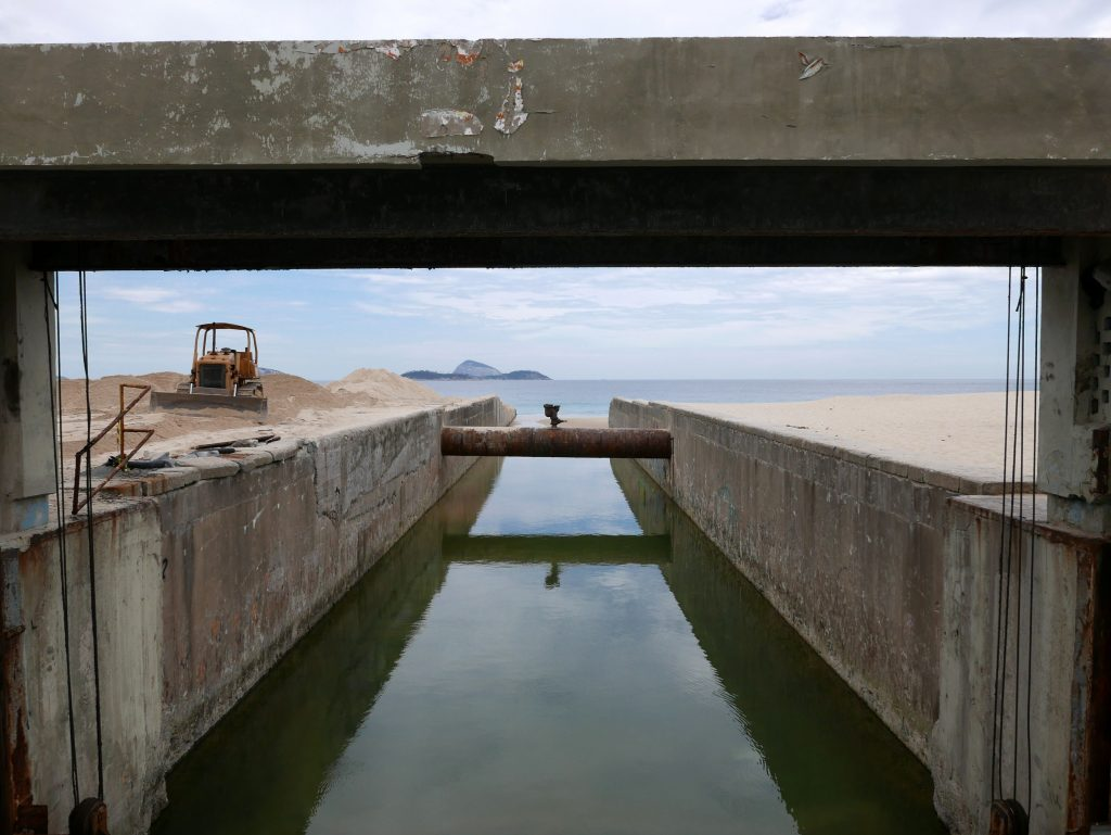 Канал между районами Ипанема и Леблон, Рио