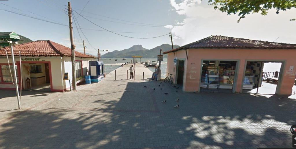 Мангаратиба, Рио-де-Жанейро, паром на Ила Гранде