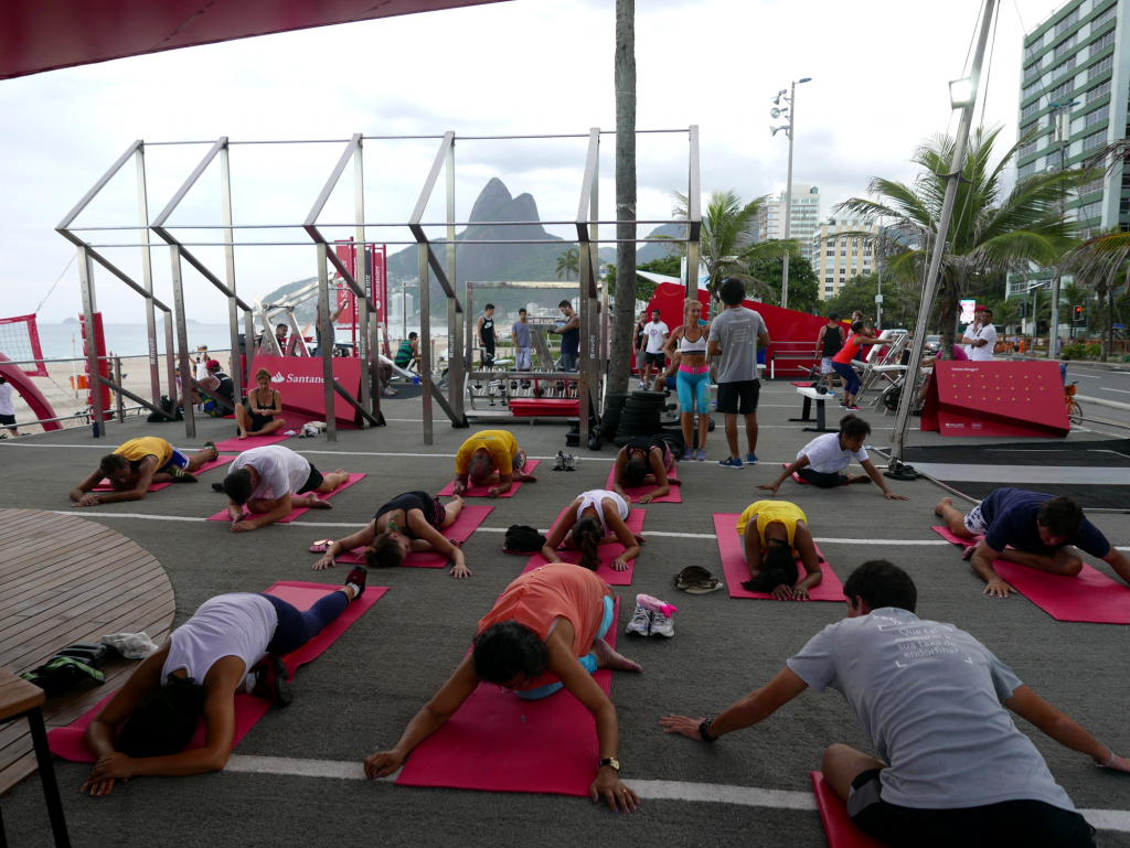 Спорт площадка под открытым небом от Santander, Рио-де-Жанейро