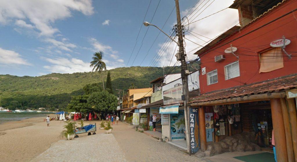 Улицы Абрау на Ила Гранде, Бразилия