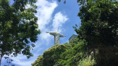 На подходе к статуе Христа освободителя, Корковадо